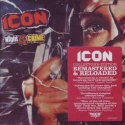 """ICON """"Night of the Crime"""" CD"""