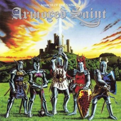 """ARMORED SAINT """"March of the Saint """" CD"""