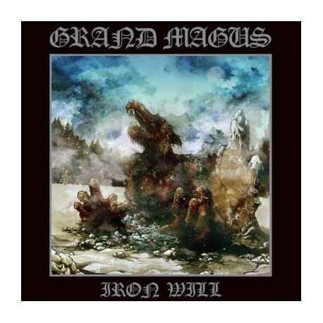 """GRAND MAGUS """"Iron Will"""" CD"""
