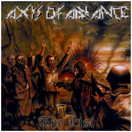 "AXIS OF ADVANCE ""The List"" CD"