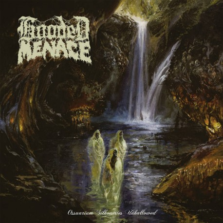 "HOODED MENACE ""Ossuarium Silhouettes Unhallowed"" LP"