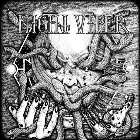"NIGHT VIPER ""S/T"" CD"