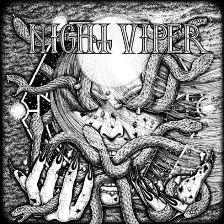 """NIGHT VIPER """"S/T"""" CD"""