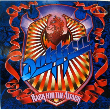 "DOKKEN ""Back for the Attack"" CD"