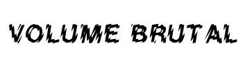 Volume Brutal